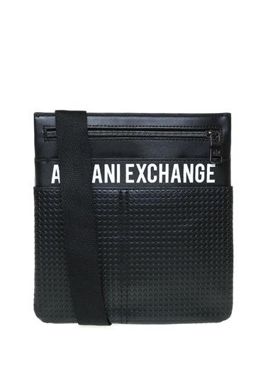 Armani Exchange Armani Exchange Erkek Postacı Çantası Siyah